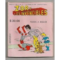 Michael Jackson Y Zor Y Los Invencibles Rarísimo Comic 1985