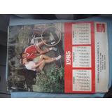 Calendario De Coca Cola Del Año 1985 Para Coleccionistas