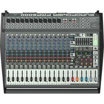 Behringer Pmp6000 Consola Amplificada 1600 Watts