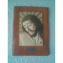 Cuadro Escultura Con Relieve De Cristo Por Salvatore Armani