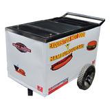 Carrito Para Hamburguesas Y Hot-dogs De 120x70
