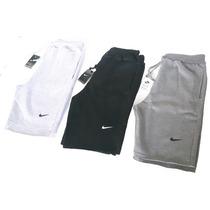 Bermuda Moleton Nike Masculina Shorts Nike Academia