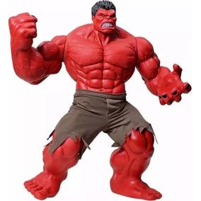 Boneco Hulk Vermelho Premium Gigante 55 Cm