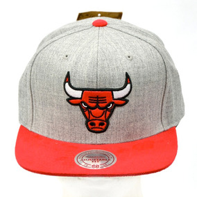 Chicago Bulls Nba Mitchell And Ness Gorra 100% Original