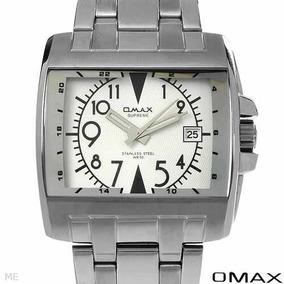 Reloj Omax Supre / Hombre / Fecha / Acero / Envio Gratis Sp0