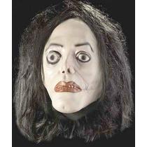 Michael Jackson Mascara Deluxe Con Peluca Halloween Ghost.
