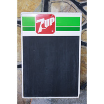 Antigua Lamina Pizarron 7 Up Seven Up