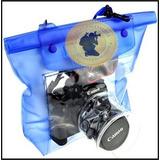 Estuche Sumergible Cámaras Fotográficas Slr Dslr Canon Nikon