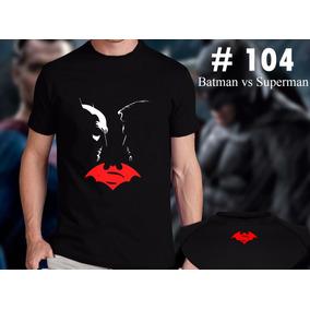 Batman Vs Superman Remeras Estampadas De Comics