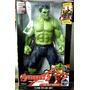 Muñeco Del Increible Hulk 30cm Con Luz Articulado