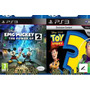 Toy Story 3 Y Epic Mickey 2 Ps3 - Digitalgames - Entrega Inm