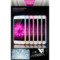 Funda Transparente Gradiente De Silicón Para Iphone 6/6s/plu