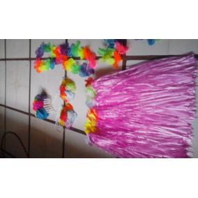 Disfraz Hawaiana Niña 6 Pz