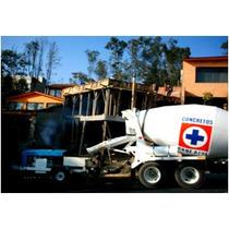 Concreto Premezclado Bombeo Cd México Edomex Y Querétaro