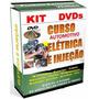 Curso Eletricista Automotivo E Injeção Eletrônica - 4 Dvds