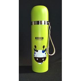 Termo Acero Inoxidable Botella Agua Figura De Venado 500 Ml