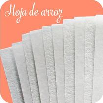 Papel Comestible Hojas De Arroz Paquete De 50 Hojas