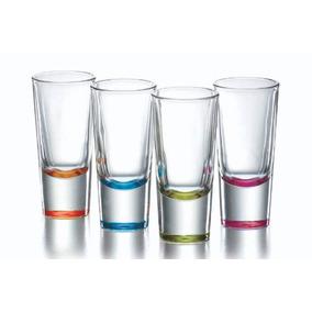 Vasos Tequileros Gigantes De Colores Son De Vidrio Crisa