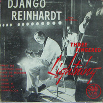 Jazz Inter, Django Reinhardt, Lp 10´, Hecho En U S A