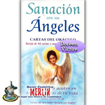 Oráculo Sanación Con Los Ángeles - 44 Cartas Y Libro