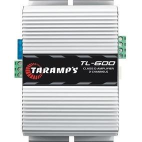 Amplificador Taramps Tl600 170w Rms 2 Canais Modulo Potencia