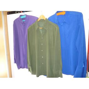 3 Camisas Retro De Seda---- Excelentes!!!!!