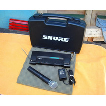 Microfono Inalambrico Shure Sm 58 ( Made In Usa ) Miralo !!