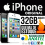 Smartphone Iphone 4 Original Apple Barato 32gb Vitrine + N F