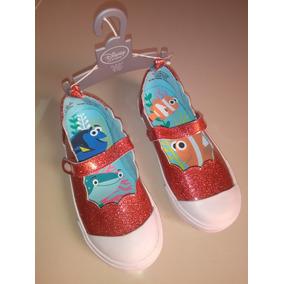 Hermosos Zapatos Americanos Disney Para Niña Día Del Niño