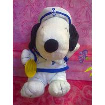 Snoopy De Peluche Vestido De Marinero Mc Donalds Ano 2000