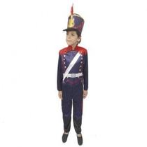 Disfraz Granadero Niño Talle 4 X 1