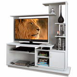 Modular Rack Mesa Tv Lcd Led 32 40 42 47 Negro Blanco Tabaco