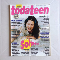 Revista Toda Teen N°27 Luciano Szafir Marcos Pasquim Ano1998