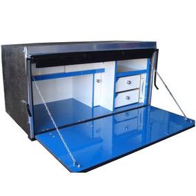 Caixa Cozinha De 1 Metro Caminhão Carreta Compensado Naval