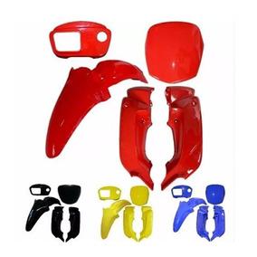 Kit Plástico Carenagem Honda Pop 100 Sem Adesivo Até 2012