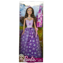 Princesa Barbie Doll Dress 2012 Edición: Purple