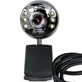 Cámara Web 1.3mp Reales Luz Micrófono Filmadora Webcam Loi