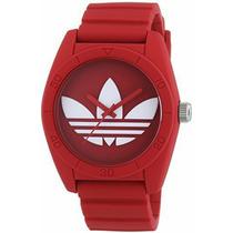 Reloj Hombre Adidas Excelente Rojo Regalo
