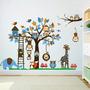 Vinilo Decorativo Infantil Safari Selva Bebes Niños