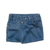 Mini Saia Jeans Infantil Menina