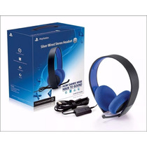 Headset Sony 7.1 Silver Elite Sony - Ps3 / Ps4 / Pc