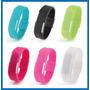 Reloj Pulsera Digital Led Silicona Deportivo Unisex Colores