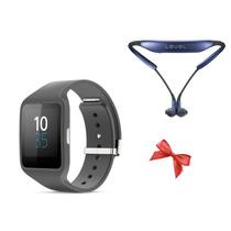 Sony Smartwatch 3 Swr50 Negro + Samsung Level U Envio Gratis