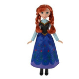 Muñeca Frozen Anna Aventura Congelada 30 Cm Original Hasbro