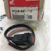 Interruptor Botão Pisca Alerta Cb400 Cb450 Original Honda