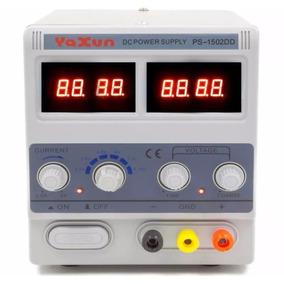Fonte De Bancada Digital Yaxun Teste Bateria 1502 / 110v