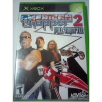 American Chopper 2 Full Throttle Para Xbox Motos Chopper Wow