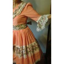 Tradicional Vestido Huasa (china), Talla M