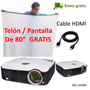 Video Beam Proyector Ideal Dar Clase Conferencia Envio Grati