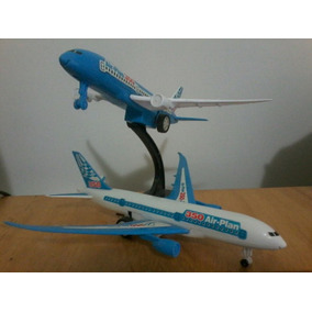 Imperdível Linda Miniatura De Avião - Airbus